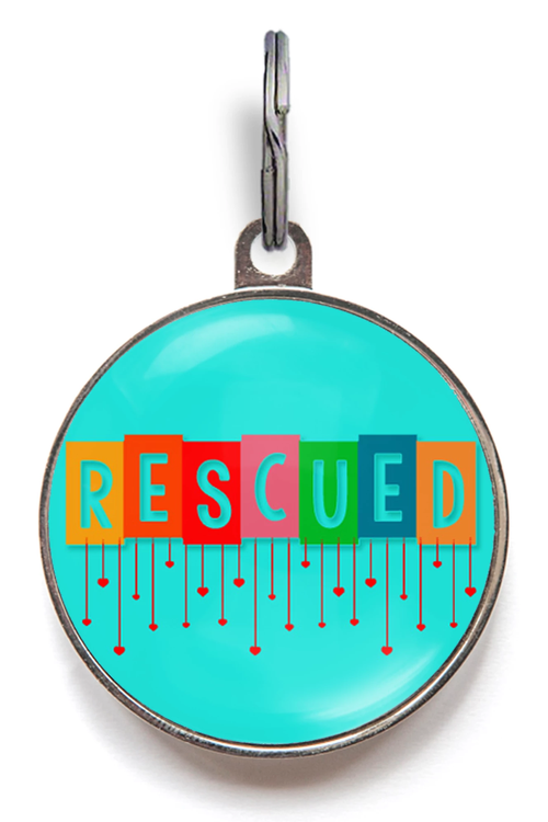 Rescued Pet ID Tag