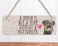 Rottweiler Dog Sign