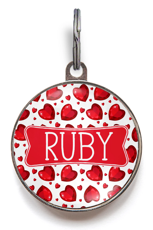 Ruby Dog Tags