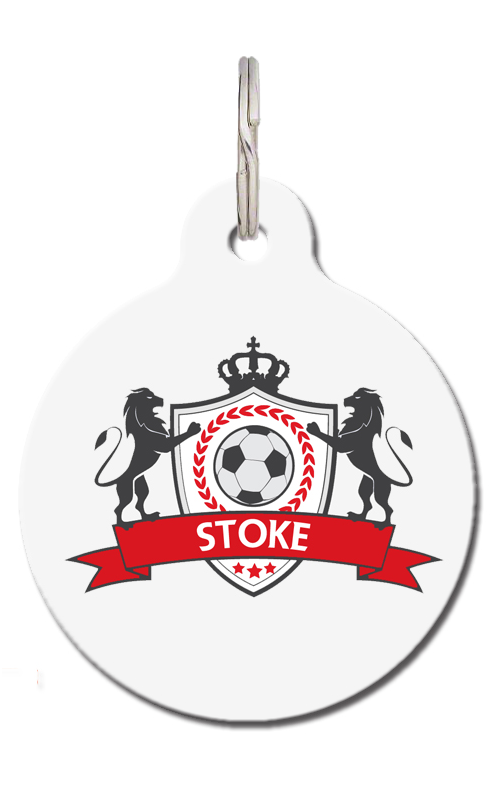 Stoke SCFC Football Pet Tag