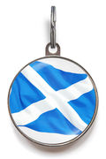 Scotland Flag Scottish Pet ID Tag
