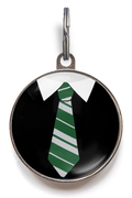 Slytherin Uniform Pet Tag - Green and Grey