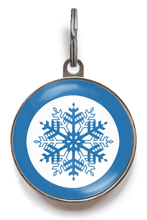 Snowflake Dog Tag