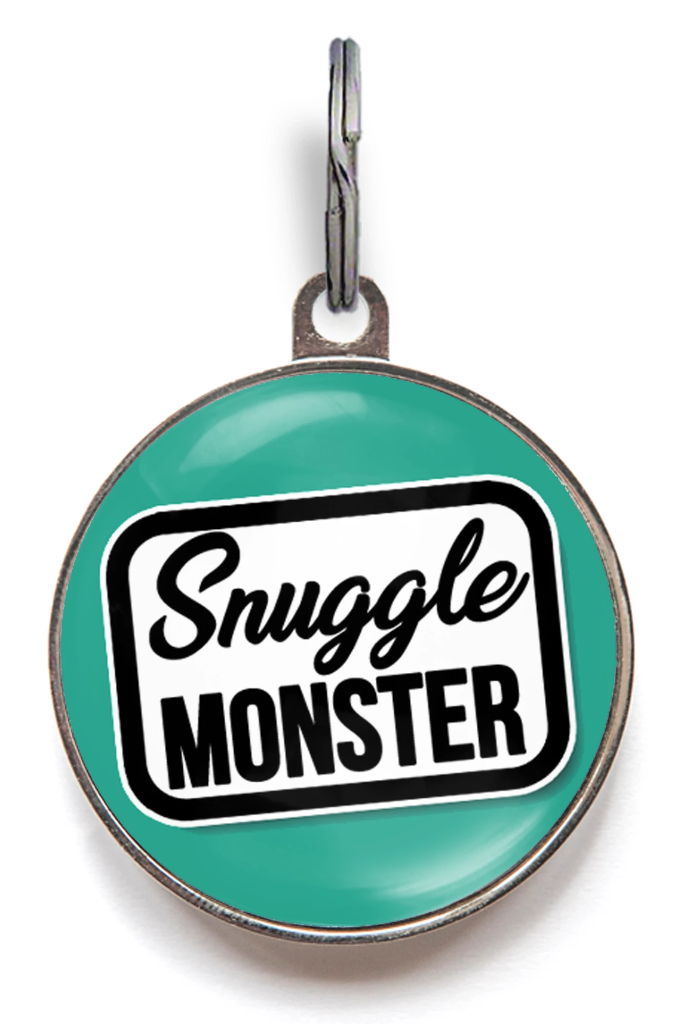 Snuggle Monster Pet Tag