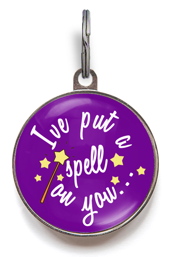 I've Put A Spell On You Pet Tag