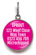 Spoiled Rotten ID Tag - Pink