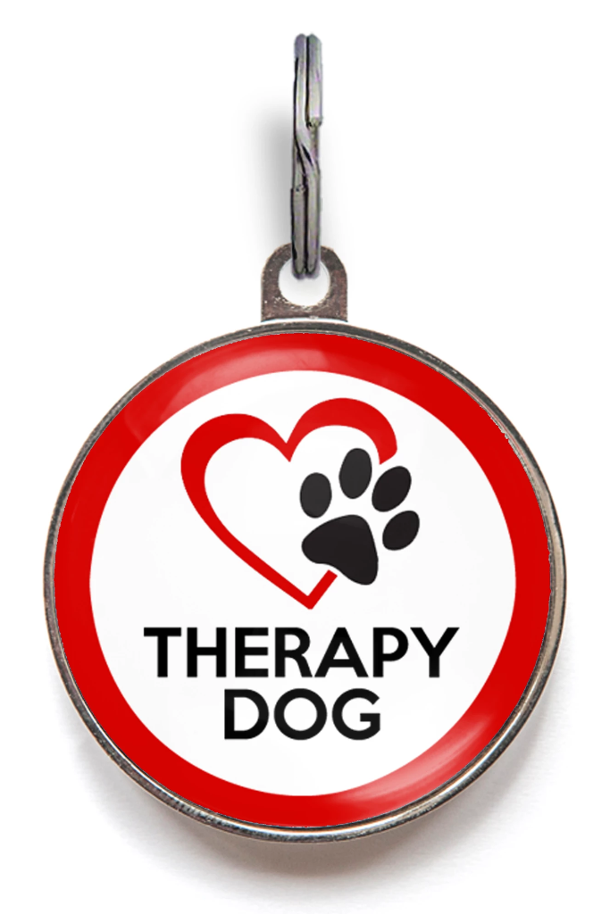Therapy Dog Dog ID Tag