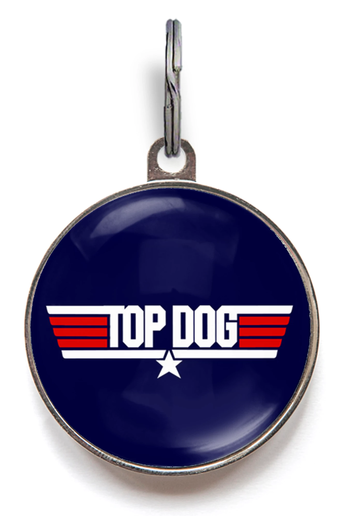 Top Dog Dog ID Tag