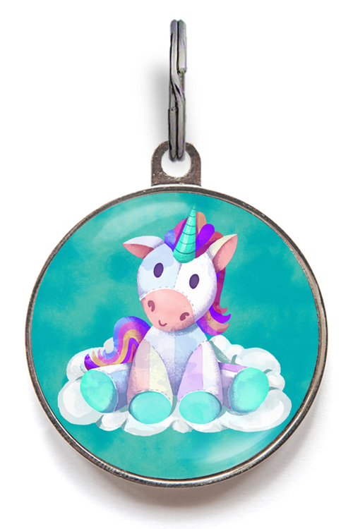 Unicorn Dog Tag