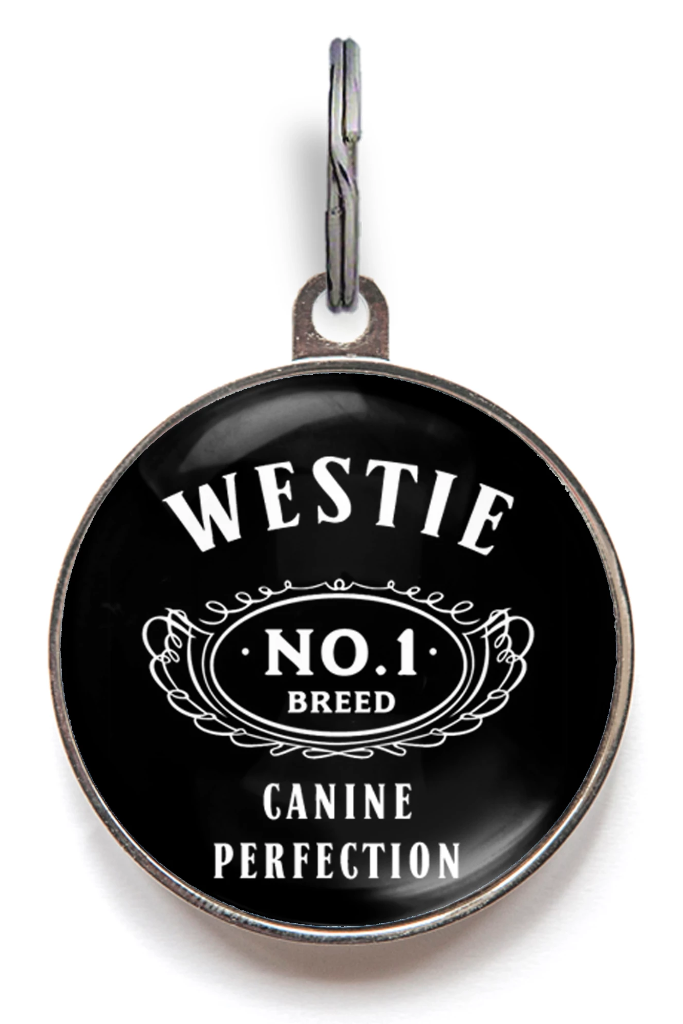 Westie Dog Breed Dog ID Tag