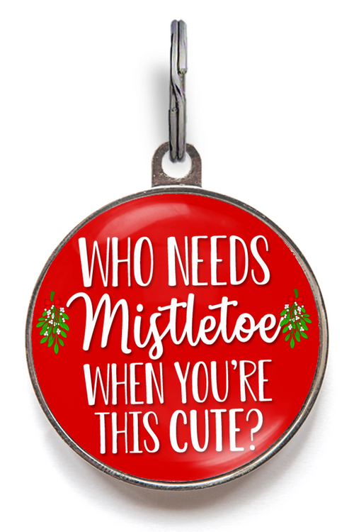 Cute Christmas Tags - Who Needs Mistletoe When You're This Cute?