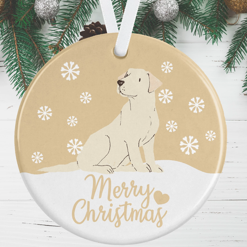 Labrador Christmas Decoration