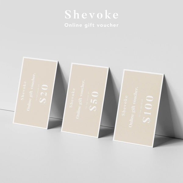 Shevoke GIFT VOUCHER