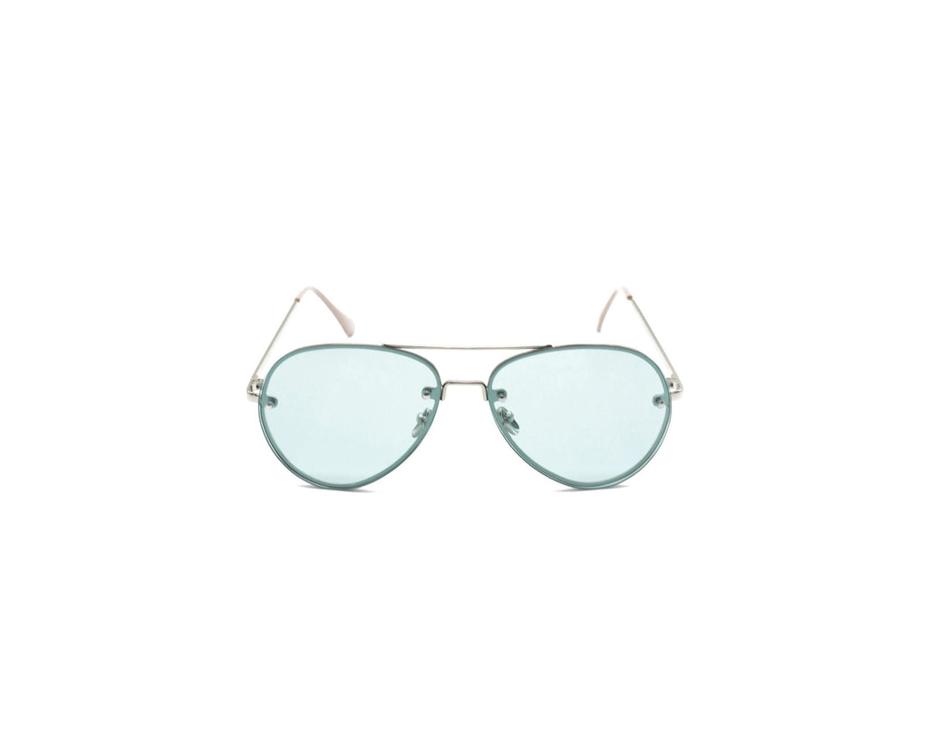 Shevoke Sunnies Green Sample Sunnies
