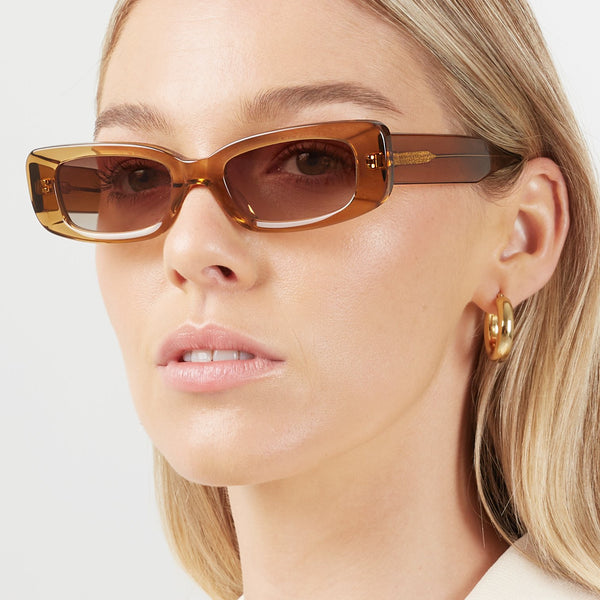 Shevoke Sunnies NORM Crystal Brown