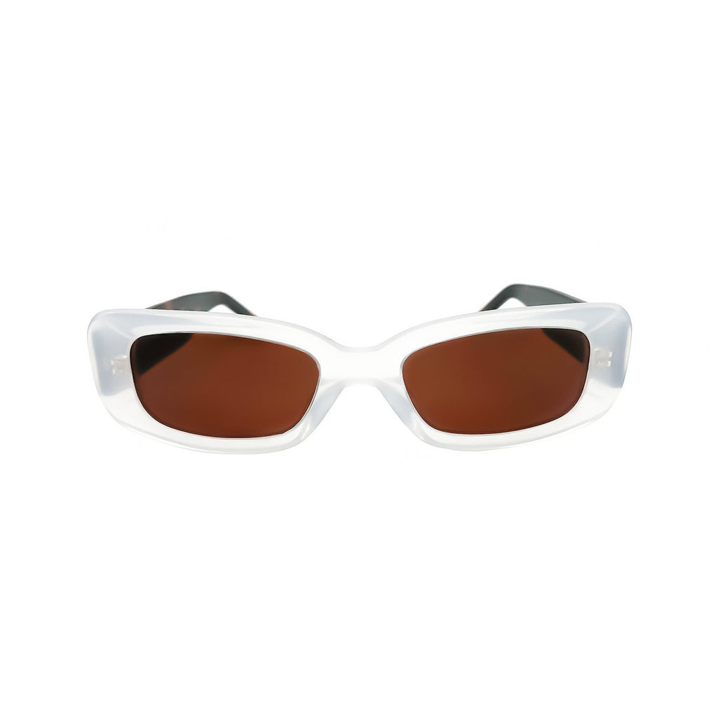 Shevoke Sunnies NORM MILKY WHITE