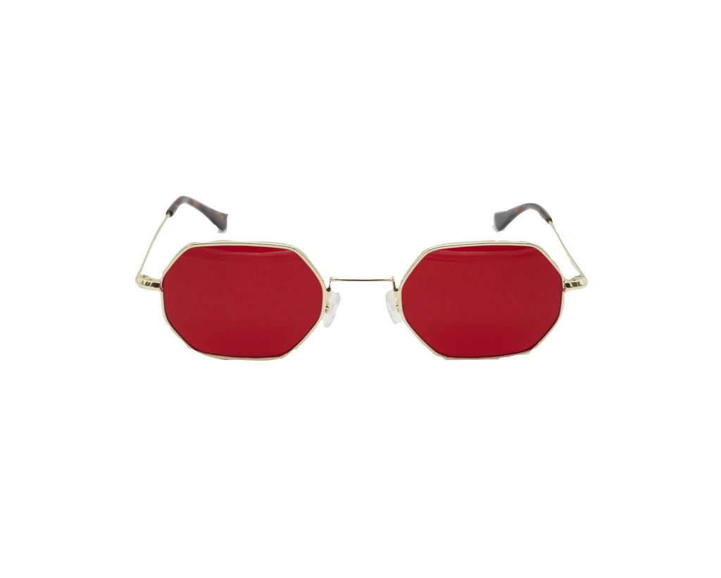 Shevoke Sunnies Red Sample Sunnies