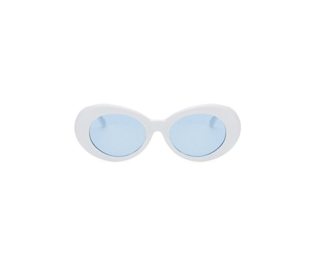 Shevoke Sunnies White/Blue Sample Sunnies