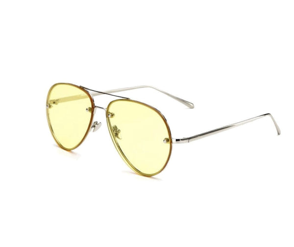 Shevoke Transparent Yellow Sample Sunnies