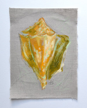 Seashell Study - Goldenrod