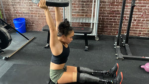 Upper-Body & Core Workouts With Aspiring Paralympic Swimmer, Haven Shepherd & SPRI