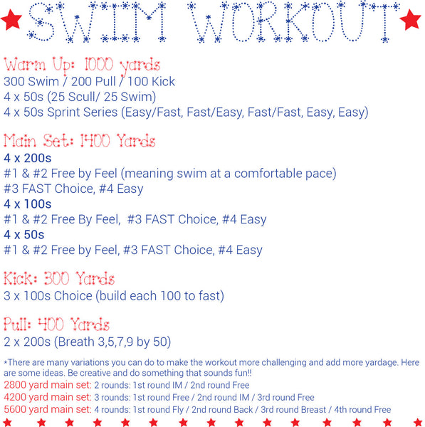 Dryland Workout For Swimmers Blog Dandk