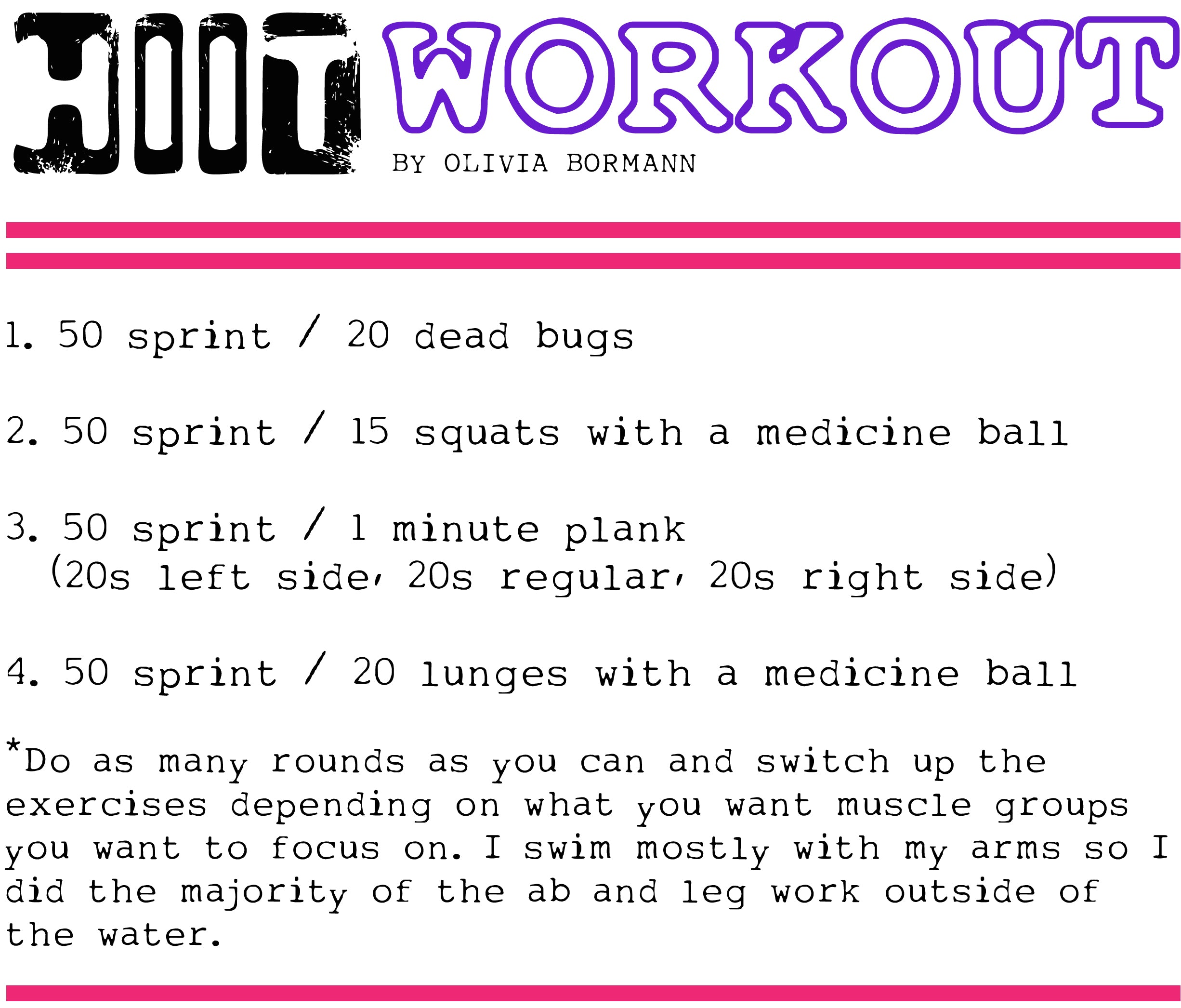 Fit Fridays-HIIT Workout flat