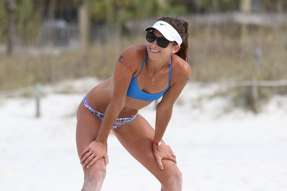 Jolyn Lauren Sieckmann Beach Volleyball