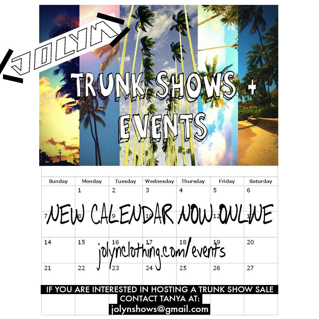 jolyn clothing swimwear sales trunk show