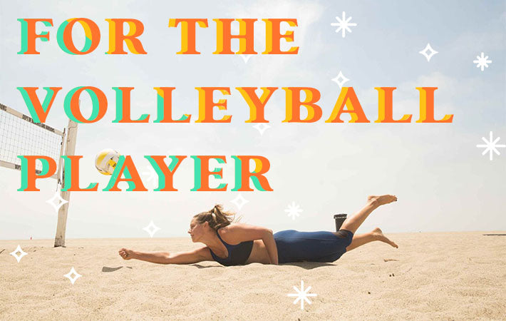 For The Volleyball Player