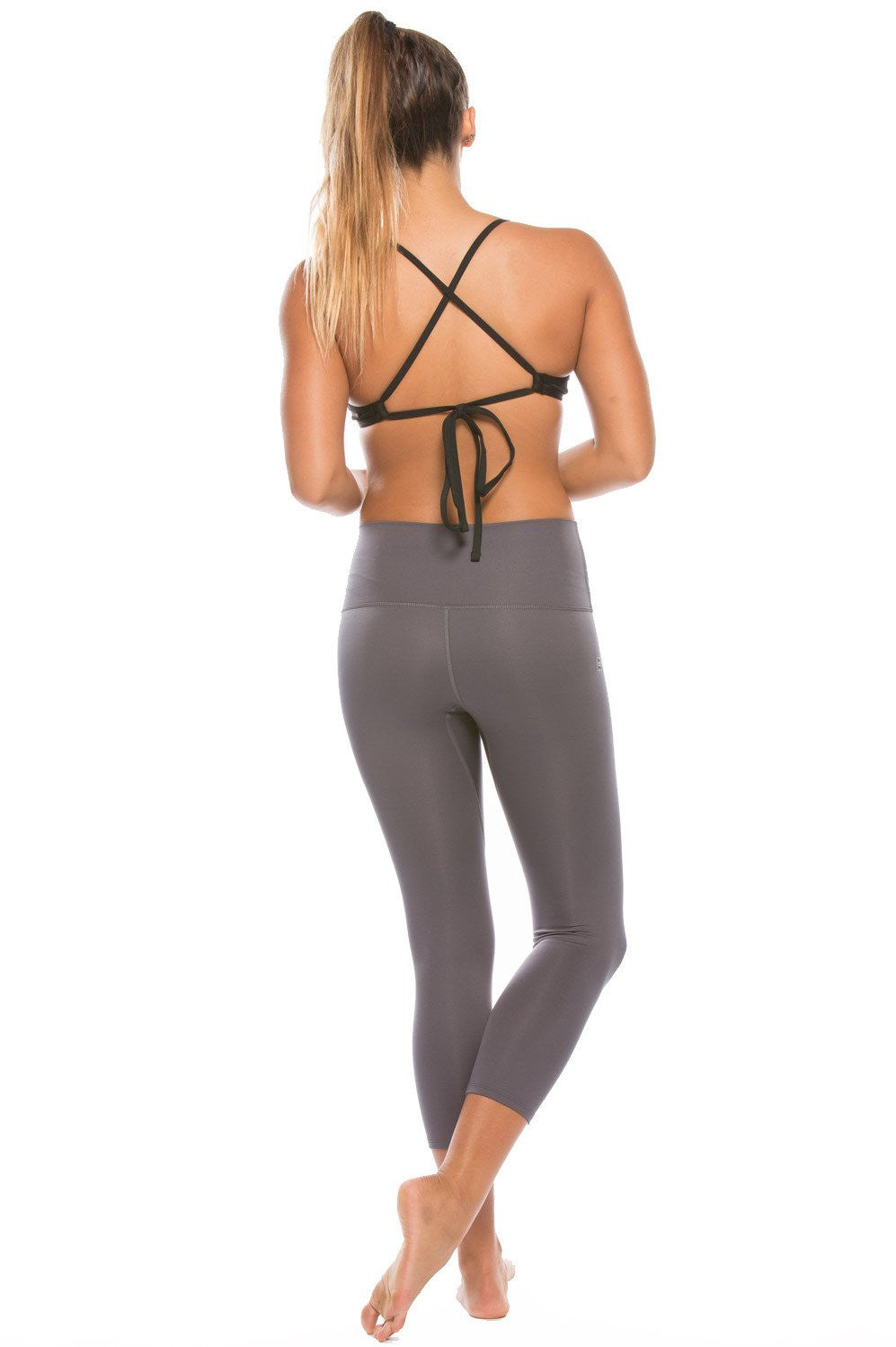 "Jonesie ""Training"" Capri - Charcoal"