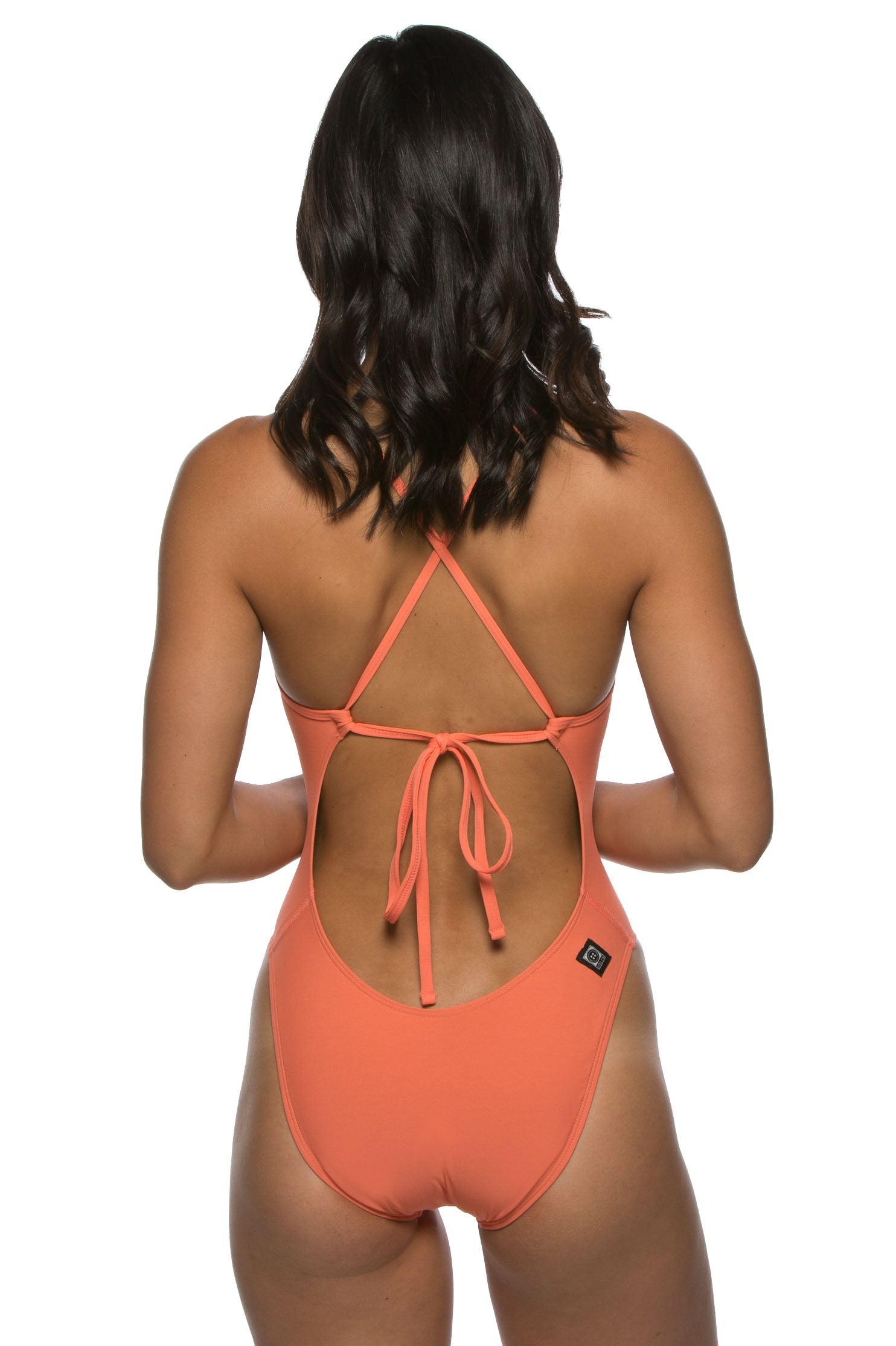 07e0ee126f8 Jackson 2 Tie-Back One-Piece Swimsuit (Lights) – Jolyn