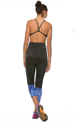 "Printed Martin ""Training"" Legging - Black/Glazed"