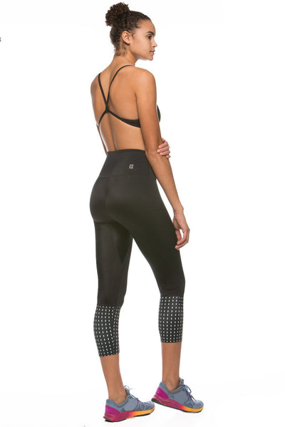 "Printed Martin ""Training"" Legging - Black/Paris"