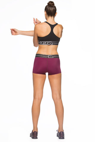 "Nelson ""Training"" Workout Short - Cabernet"