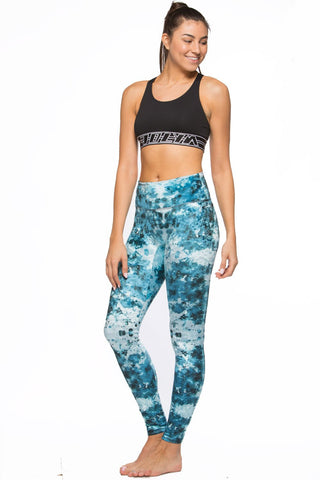 Printed Ren Velvet Legging - Laterz