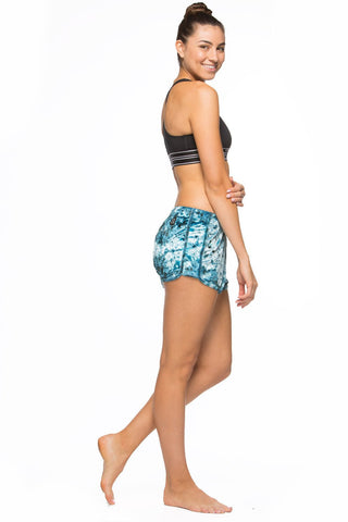 Printed Silas Velvet Shorts - Laterz