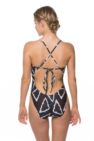 Printed Jackson 3 Tie-Back Onesie - Localz Only