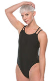 Ash 2 Fixed-Back Onesie - Black