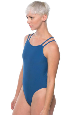 Ash 2 Fixed-Back Onesie - Deep Blue Sea
