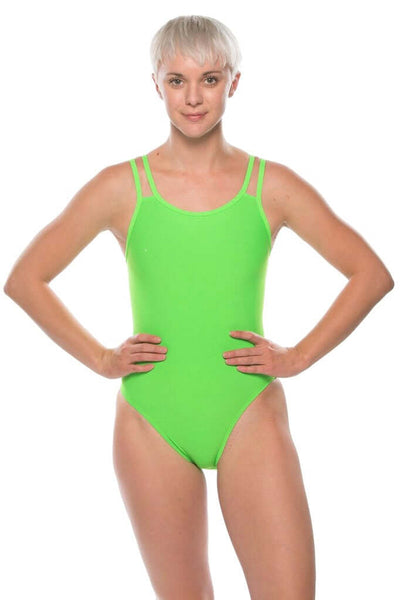 Ash 2 Fixed-Back Onesie - Lime