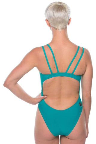 Ash 2 Fixed-Back Onesie - Ocean