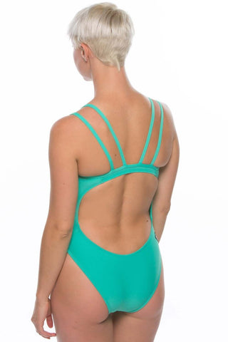 Ash 2 Fixed-Back Onesie - Seafoam