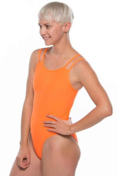 Ash 2 Fixed-Back Onesie - Sunkist