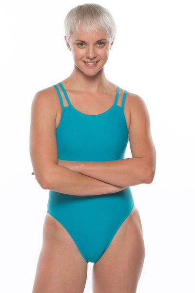 Ash 2 Fixed-Back Onesie - Teal