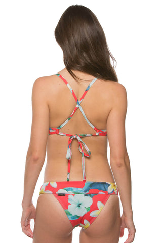 Printed Softy 2 Bottom - Aloha Red