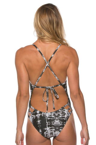 Printed Nico Tie-Back Onesie - Lasts