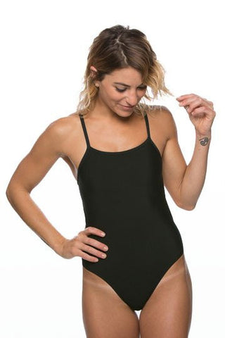 Wazza Fixed-Back Onesie - Black