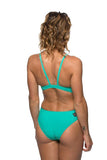 Wazza Fixed-Back Onesie - Seafoam