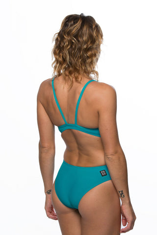 Wazza Fixed-Back Onesie - Ocean
